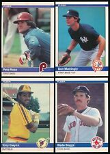 1984 Fleer - You Pick Complete Your Set #441-660 (A13)