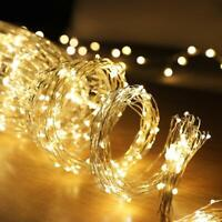 LED Firefly Bunch Lights Indoor Outdoor String Fairy Light Christmas Party Decor