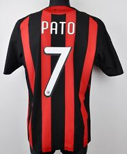 AC MILAN PATO Shirt 2008/2011 Men's Large Adult Trikot Jersey L Calcio Camiseta