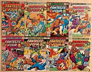 FANTASTIC FOUR 201-250 | BRONZE AGE LOT | 50-ISSUE RUN! | RANGES FROM FN TO VF