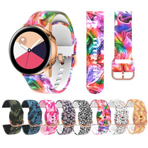 Soft Silicone Fishion Replacement Band Strap For Samsung Galaxy Watch 20 22MM