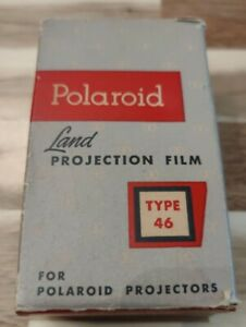 Polaroid Land Projection Film Projectors Type 46 8 Black White 1960