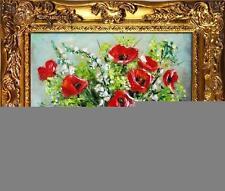 Originale künstlerische Malerein im Art-Deco-Stil direkt vom Künstler