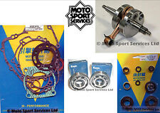 KX 85 07-13 Mitaka Bottom End Engine Rebuild Kit Crank Mains Gasket Seal Kit
