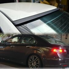 UNPAINT FOR ACURA 09-12 TSX CU2 REAR 4D SEDAN WING WINDOW ROOF SPOILER JDM VIP