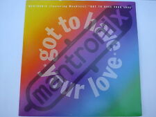 """Mantronix Feat. Wondress – Got To Have Your Love 12"""" US"""