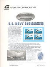 #595 33c U. S. Navy Submarines #3372 USPS Commemorative Stamp Panel