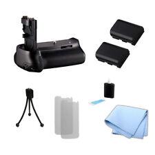 Battery Grip for BG-E9 & Canon EOS 60D Camera, 2 LP-E6 / LP-E6N Battery + Kit