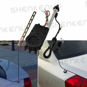 Power Antenna AM FM Radio Mast Replacement Kit Trunk OEM Car Aerial Adapter 12V