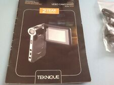 TEKNIQUE T67002 DIGITAL VIDEO CAMCORDER - NEW AND UNUSED NO BOX