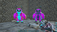 Ark Survival Evolved Breeding Pair of Snow owls Magenta PVE Xbox ONE Official
