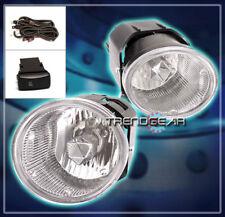 BUMPER FOG LIGHTS LAMPS CHROME FOR 2001-2004 FRONTIER/XTERRA/2000+ SENTRA/MAXIMA