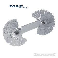 Silverline Screw Pitch Gauge Combination 0.25 - 6mm / 4 - 62BSW 245110