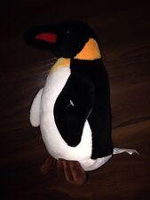 Plüschtier Kuscheltier Sparkasse Stofftier Bambia Pinguin Aldi Schwarz Weiß Rot