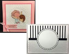 CGull embossing folders - Circle Frame embossing Folder 12-0006 All Occasion