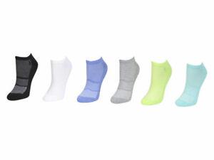 Polo Ralph Lauren 6-Pairs Geometric Pattern Mint Ankle Socks Sz 9-11 Fits 4-10.5