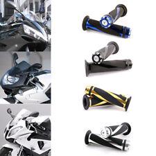"MOTORCYCLE 7/8"" HAND GRIPS HANDLE BAR GEL FOR YAMAHA R1 R6 HONDA CBR600RR Bikes"