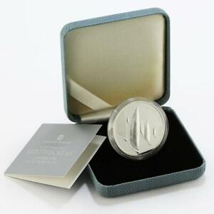 Lithuania 50 litu The XXX Olympic Games in London Sailing proof silver coin 2011