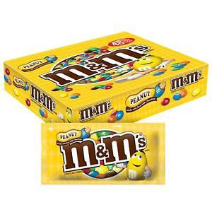 M&M's Peanut Chocolate Candy (1.74oz., 48pk.)