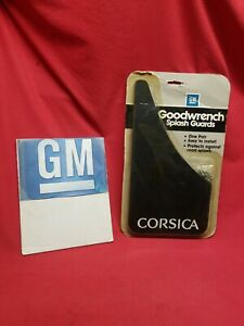 NOS CHEVY CORSICA Splash Guards GM Goodwrench 00999737