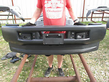 2017 FORD F250 F350 F450 FRONT BUMPER BLACK COMPLETE NICE!! OEM! NEW! SAVE!!!!