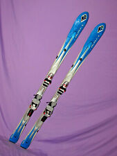 K2 T:Nine Spire  MOD t9 t-9 women's skis 160cm with LOOK Pivot 10 ski bindings ~