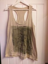 Goth/Emo/Punk Style Vest Top By Label Lab Size 10