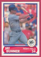 1989 Score Young Superstars # 6 Jay Buhner -- Seattle Mariners