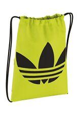 Adidas turnbeutel gymsack trefoil aj8989 amarillo flúor