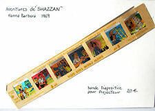 "bande diapositve  projecteur Dessins Animées ""SHAZZAN "" hanna barbera"