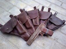 Original pre-WWII Soviet Tokarev TT-33 set: holster, wire, rod, grips