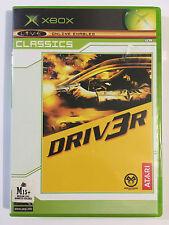 Driv3r driver classics Microsoft Xbox game used