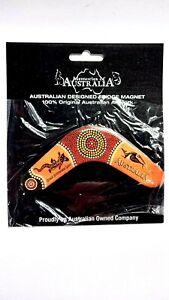 Australia Aboriginal Boomerang Souvenir Magnet. Design New Great Gift