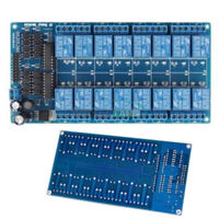 16-Channel 12V Relay Shield Module LM2576 Power Supply Electronic For Arduino