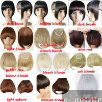 clearance sale clip in hair extensions full head heat resistant human made hg69