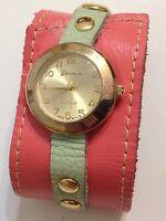 Geneva Ladies Designer Good  Working Quartz Watch