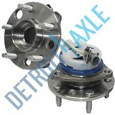 (2) New Front Wheel Hub and Bearing Assembly Set for Buick Chevy Pontiac w/ ABS