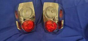 97-04 NISSAN PATHFINDER INFINITI QX4 CHROME TAIL LIGHTS LAMPS PAIR NEW ALTEZZA