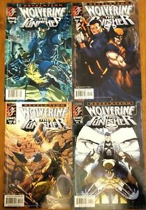 Wolverine & The Punisher 4-Issue Mini Series!