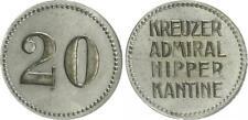 Deutschland / Kreuzer Admiral Hipper  20 Pfennig,   vz