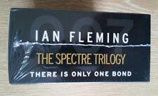 IAN FLEMING SPECTRE TRILOGY JAMES BOND 007 BRAND NEW UNREAD STILL SHRINK WRAPPED
