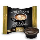 Caffè Borbone - Don Carlo Miscela Oro 100 Pezzi -Compatibili Lavazza A Modo Mio