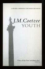 J.M. Coetzee - Youth; SIGNED PROOF