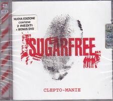 CD ♫ + Dvd Box Set «SUGARFREE ♪ CLEPTO-MANIE» nuovo sigillato Deluxe Edition
