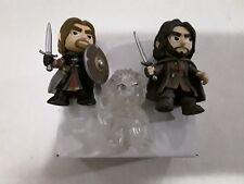 Funko Mystery Mini Lord of the Rings Aragorn, Boromir, Invisible Frodo + Sam Lot