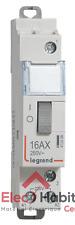 Télérupteur unipolaire 230V 16A Legrand 412408