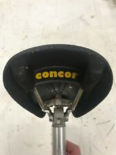 Concor S. Marco Supercorsa leather saddle with 26.8 seat post - VINTAGE 1980's