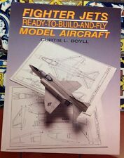 FIGHTER JETS Ready To Build Card stock & Instr 1:81 Scale 1st Ed1958 Free Ship
