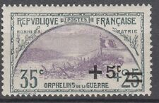 TIMBRE FRANCE NEUF N° 166 * ORPHELINS DE LA GUERRE