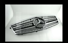NEW E-CLASS W212 SPORTS GRILLE MERCEDES E350 E550 SEDAN BLACK 2010-2013 AMG new
